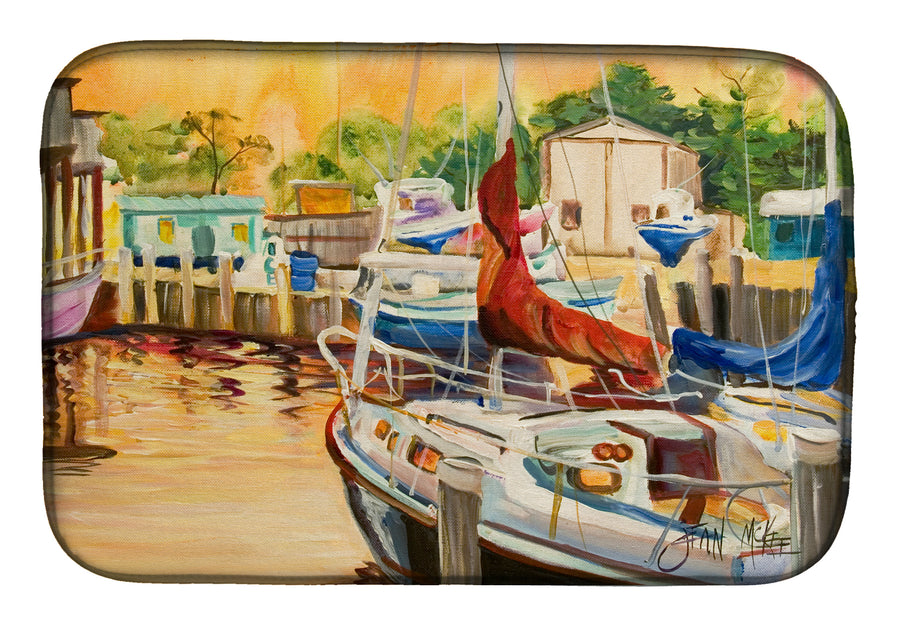 Buy this Sunset Bay Sailboat Dish Drying Mat JMK1082DDM