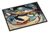 Blue Crab Indoor or Outdoor Mat 24x36 JMK1094JMAT - the-store.com