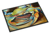 Blue Crab Indoor or Outdoor Mat 24x36 JMK1096JMAT - the-store.com