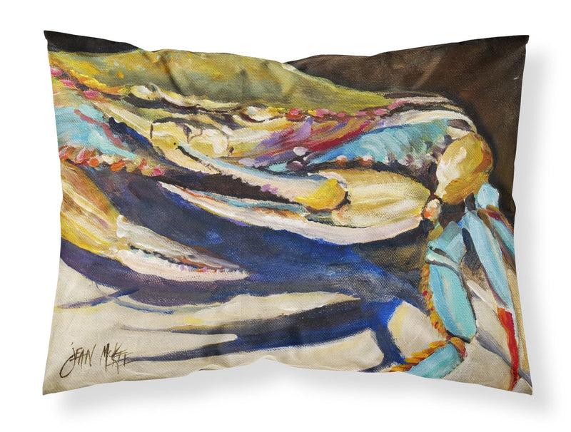 Buy this Crab to Crab Blue Crab Fabric Standard Pillowcase JMK1100PILLOWCASE