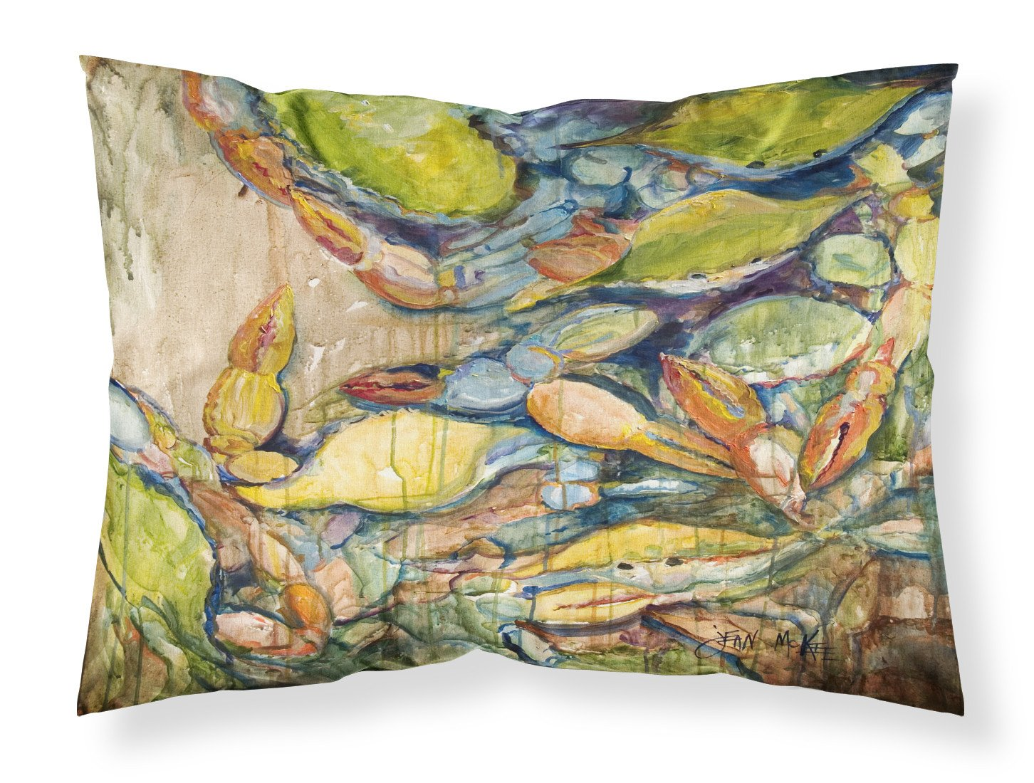 Buy this Jubilee Blue Crab Fabric Standard Pillowcase JMK1102PILLOWCASE
