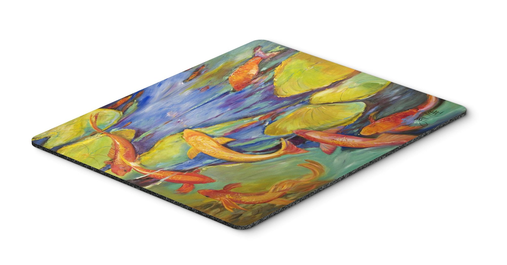 Buy this Koi Mouse Pad, Hot Pad or Trivet JMK1115MP
