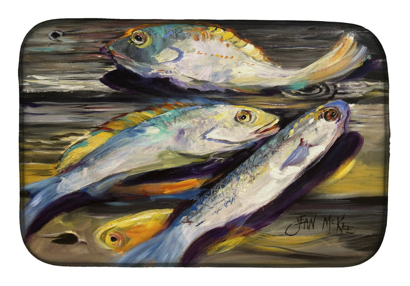 Buy this Fish on the Dock Dish Drying Mat JMK1116DDM
