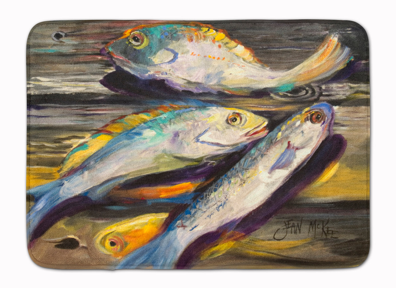 Buy this Fish on the Dock Machine Washable Memory Foam Mat JMK1116RUG