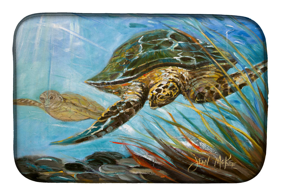 Buy this Loggerhead Sea Turtle Dish Drying Mat JMK1118DDM