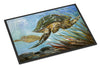 Loggerhead Sea Turtle Indoor or Outdoor Mat 24x36 JMK1118JMAT - the-store.com