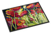 Red Poppies Indoor or Outdoor Mat 24x36 JMK1121JMAT - the-store.com