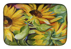 Buy this Sunflowers Dish Drying Mat JMK1122DDM