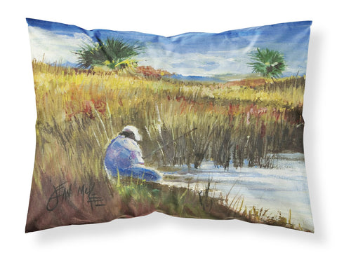 Buy this Fisherman on the Bank Fabric Standard Pillowcase JMK1125PILLOWCASE