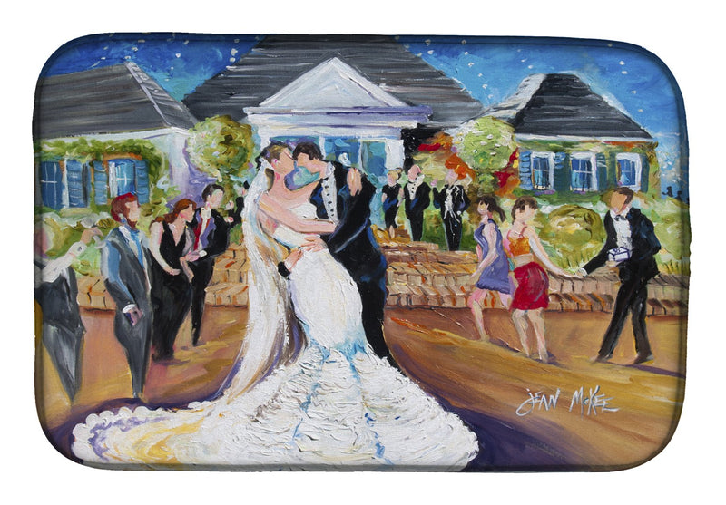 Buy this Our Wedding Day Dish Drying Mat JMK1127DDM