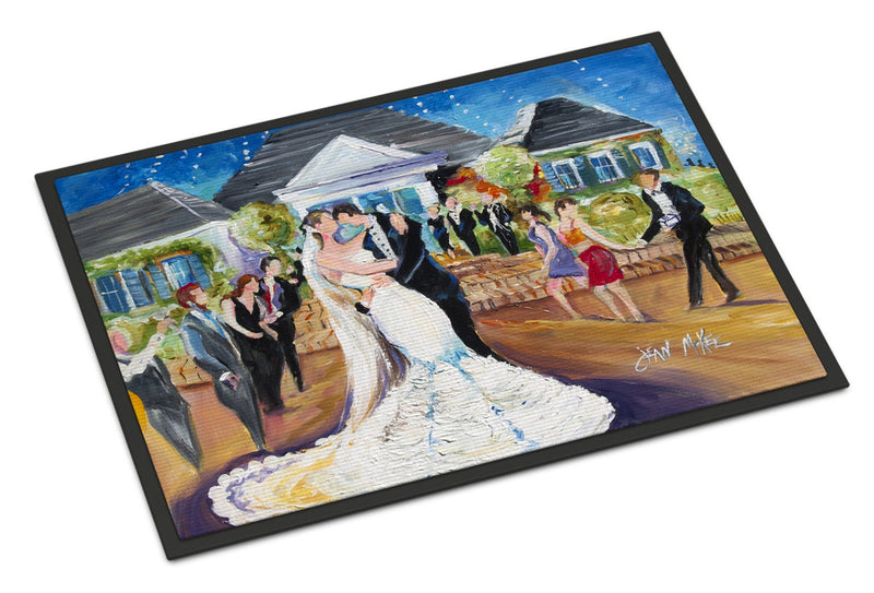 Buy this Our Wedding Day Indoor or Outdoor Mat 18x27 JMK1127MAT