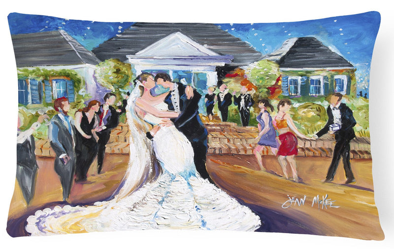 Buy this Our Wedding Day Canvas Fabric Decorative Pillow JMK1127PW1216