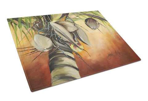 Buy this Coconut Tree Glass Cutting Board Large JMK1128LCB