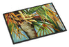 Orange Top Palm Tree Indoor or Outdoor Mat 24x36 JMK1129JMAT - the-store.com