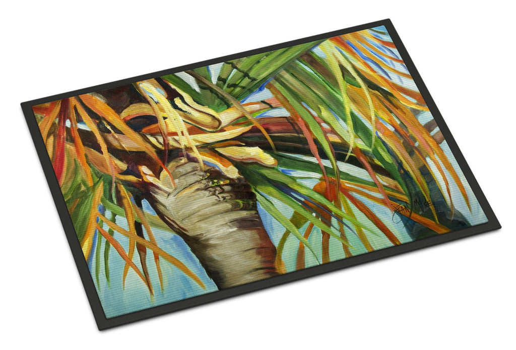 Buy this Orange Top Palm Tree Indoor or Outdoor Mat 24x36 JMK1129JMAT
