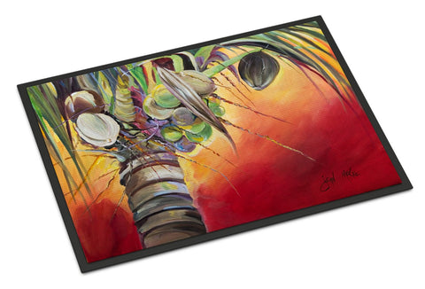 Buy this Sunset on the Coconut Tree Indoor or Outdoor Mat 18x27 JMK1133MAT