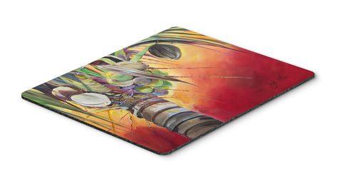 Buy this Sunset on the Coconut Tree Mouse Pad, Hot Pad or Trivet JMK1133MP