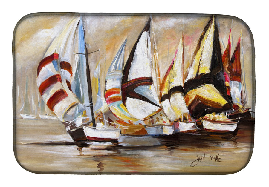 Buy this Boat Binge Sailboats Dish Drying Mat JMK1136DDM