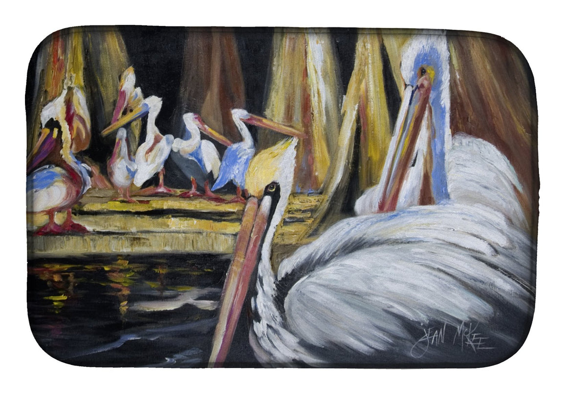 Buy this Pelicans Dish Drying Mat JMK1137DDM