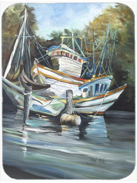 Buy this Shrimpers Cove and Shrimp Boats Mouse Pad, Hot Pad or Trivet JMK1152MP