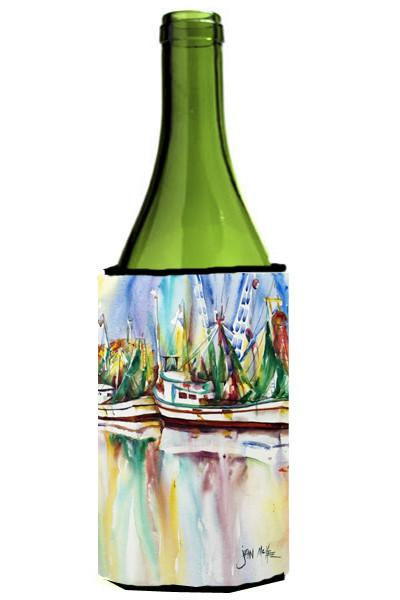 Buy this Ocean Springs Shrimp Boats Wine Bottle Beverage Insulator Hugger JMK1156LITERK