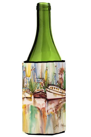 Buy this Ocean Springs Deep Sea Fishing Boats Wine Bottle Beverage Insulator Hugger JMK1157LITERK