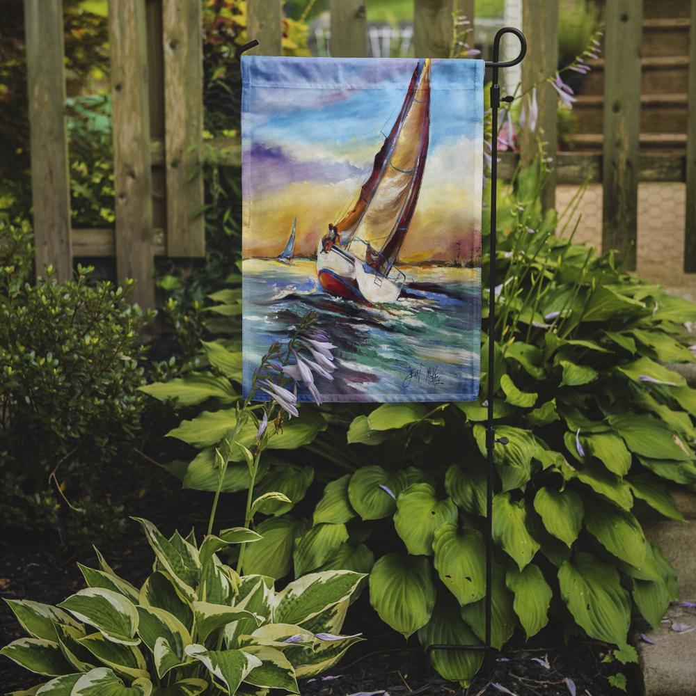 Horn Island Sailboat Race Flag Garden Size JMK1159GF by Caroline's Treasures