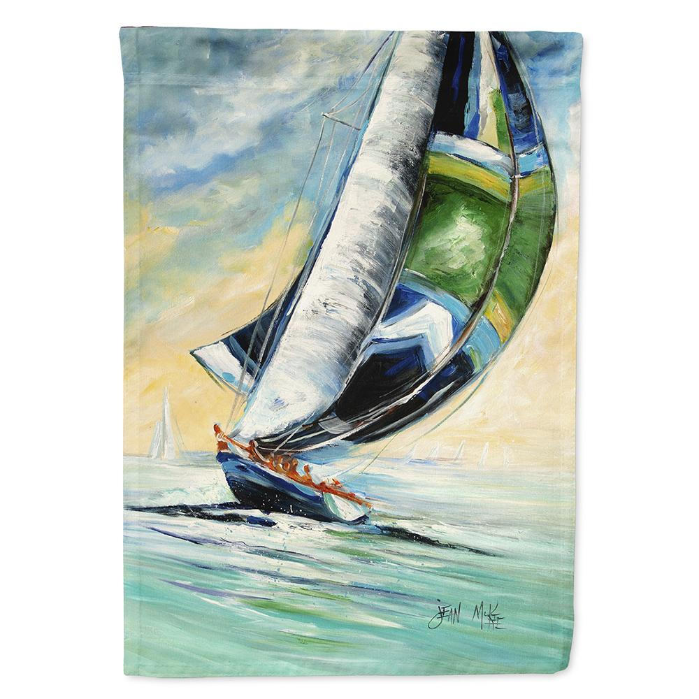 Buy this Cruising the Coast Sailboats Flag Garden Size JMK1163GF