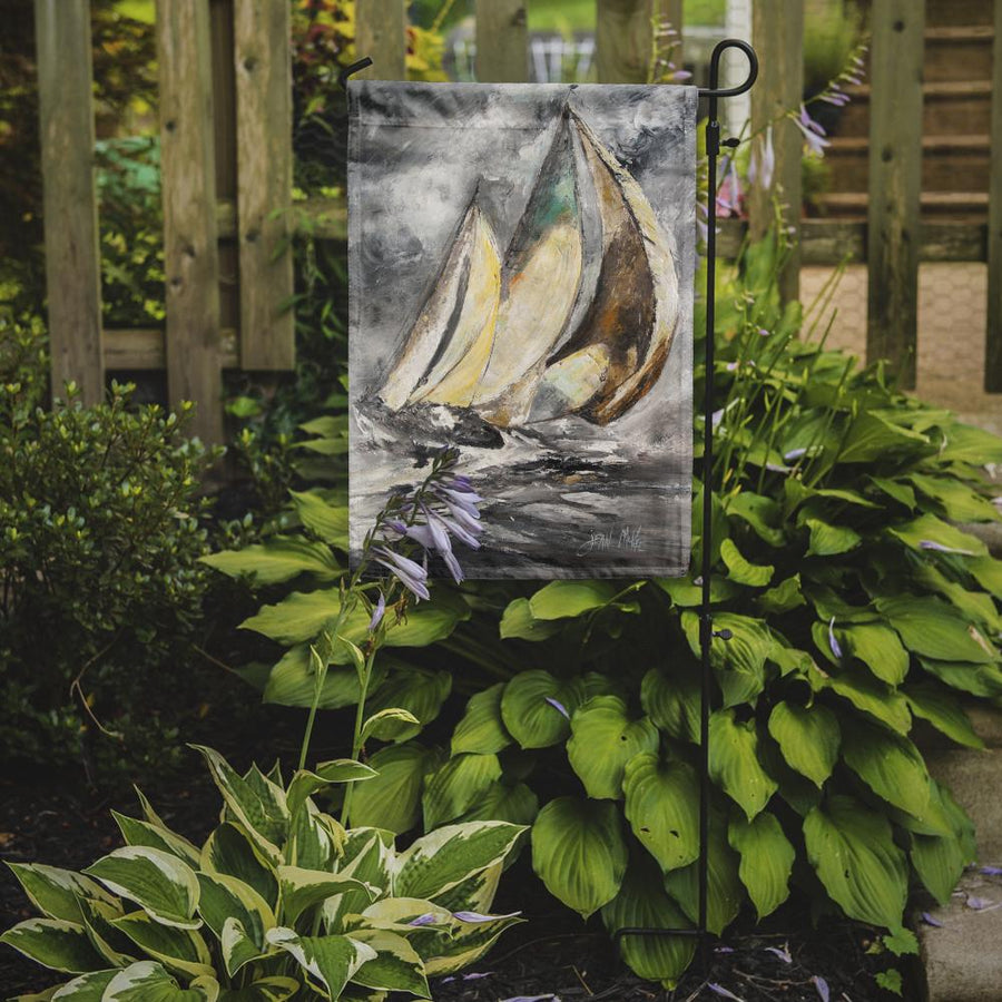 Buy this Boat Full Sailboats Flag Garden Size JMK1166GF