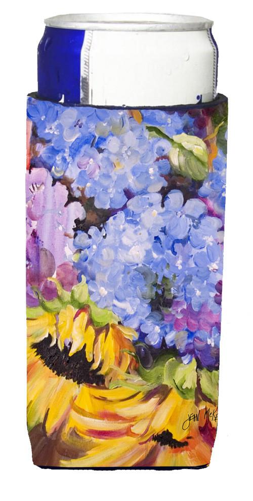 Buy this Hydrangeas and Sunflowers Ultra Beverage Insulators for slim cans JMK1175MUK