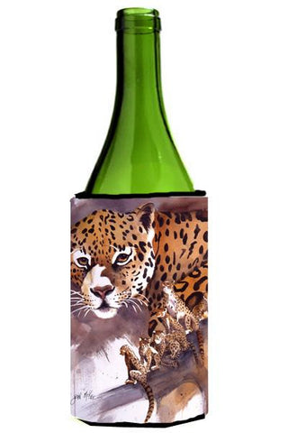 Buy this Cheetah Wine Bottle Beverage Insulator Hugger JMK1193LITERK