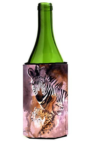 Buy this Cheetah, Lion, and Zebra Wine Bottle Beverage Insulator Hugger JMK1194LITERK
