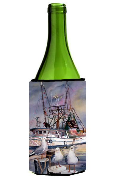 Buy this Sea Gulls and shrimp boats Wine Bottle Beverage Insulator Hugger JMK1196LITERK