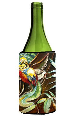 Buy this Mandarin Pheasant Wine Bottle Beverage Insulator Hugger JMK1204LITERK
