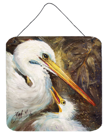Buy this White Egret feeding baby Wall or Door Hanging Prints JMK1211DS66
