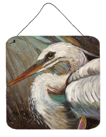 Buy this White Egret Wall or Door Hanging Prints JMK1212DS66