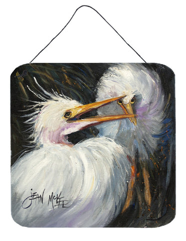Buy this White Egret Wall or Door Hanging Prints JMK1213DS66
