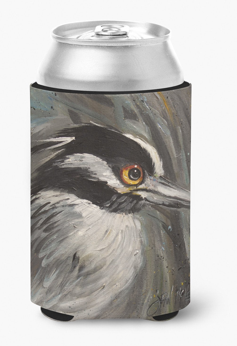 Night Heron Can or Bottle Hugger JMK1219CC by Caroline's Treasures