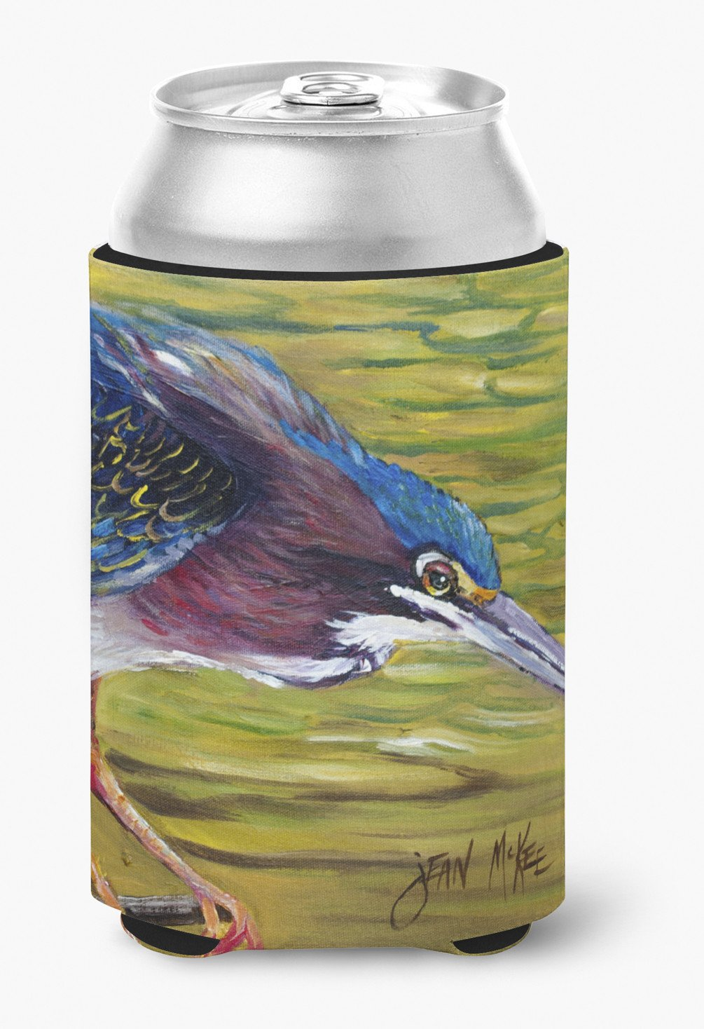 Buy this Green Heron Can or Bottle Hugger JMK1226CC