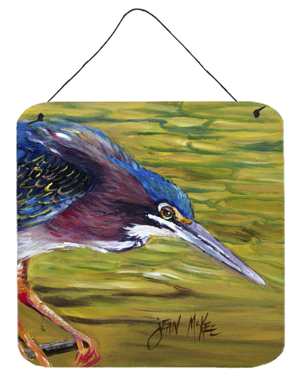 Buy this Green Heron Wall or Door Hanging Prints JMK1226DS66
