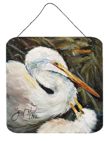 Buy this White Egret Wall or Door Hanging Prints JMK1227DS66