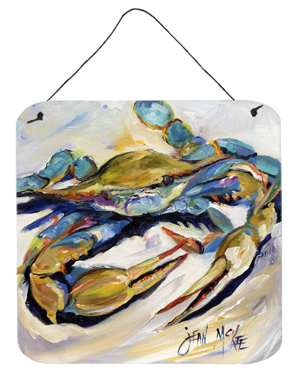 #20 Crab Wall or Door Hanging Prints JMK1255DS66 by Caroline's Treasures