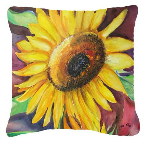 Sunflowers Canvas Fabric Decorative Pillow by Caroline's Treasures