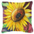 Buy this Sunflowers Canvas Fabric Decorative Pillow