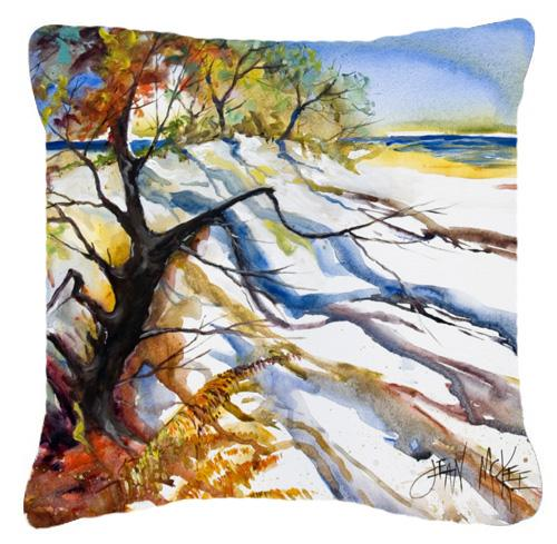 Sand Dune Canvas Fabric Decorative Pillow by Caroline's Treasures