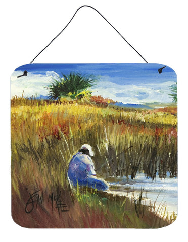 Buy this Fishing on the bank Wall or Door Hanging Prints JMK1274DS66