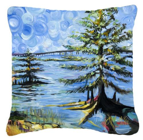 Buy this Life on the Causeway Canvas Fabric Decorative Pillow