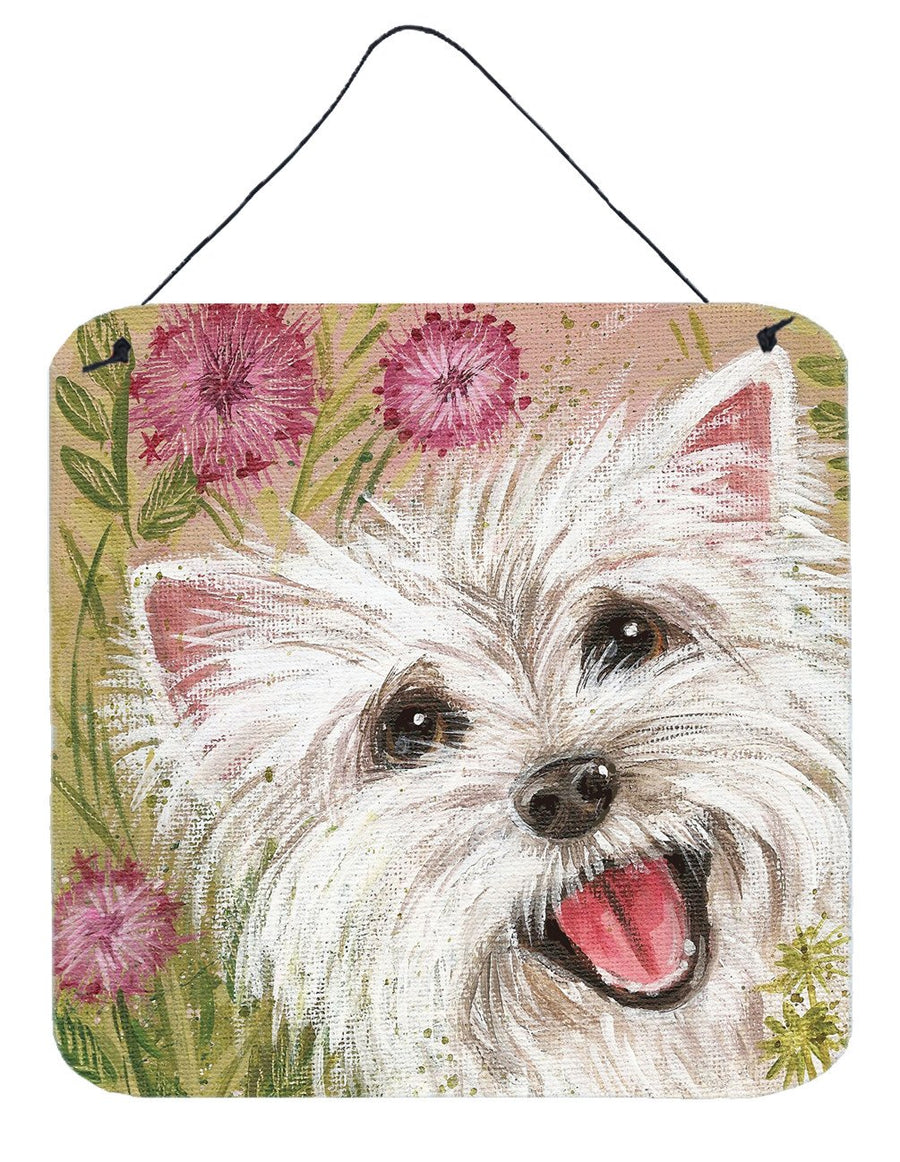 Buy this Westie by Judith Yates Wall or Door Hanging Prints JYJ0018DS66