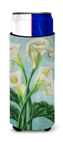 Buy this Arum Lilly by Judith Yates Ultra Beverage Insulators for slim cans JYJ0070MUK