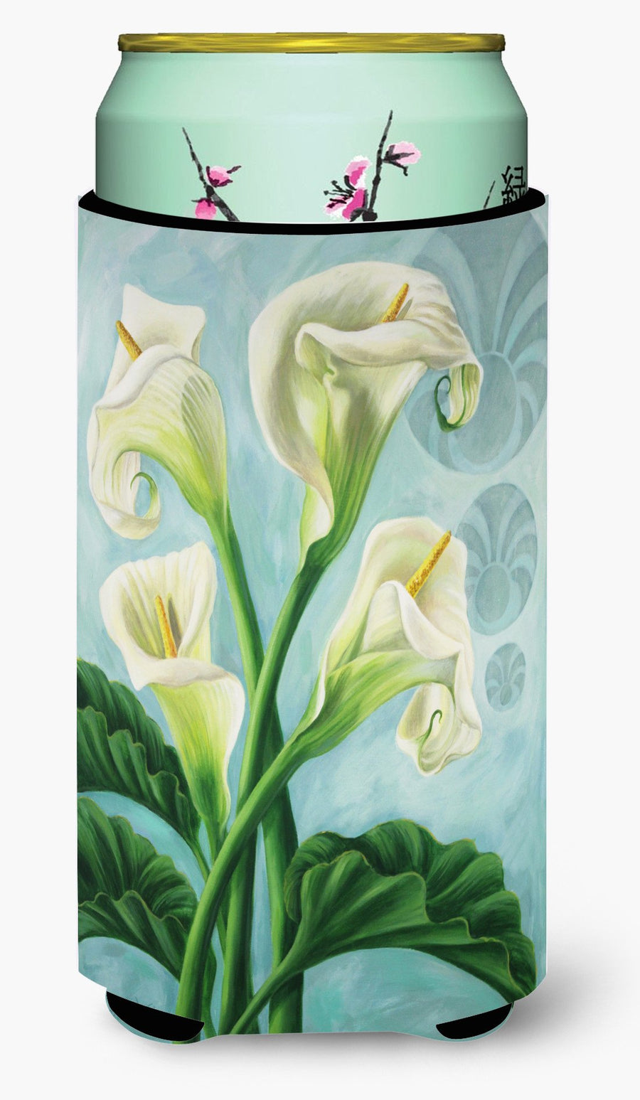 Buy this Arum Lilly by Judith Yates Tall Boy Beverage Insulator Hugger JYJ0070TBC